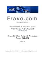 Tài liệu Cisco Certified Network Associate Exam 642-801 Edition 2.0 docx
