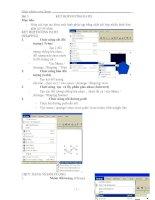 Tài liệu Giáo trình CorelDraw - Bài 3 ppt