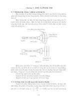 Tài liệu Giáo trình trường điện từ_Chương 5 + 6 docx