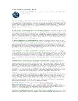 Tài liệu 10 điều cần biết về Thương mại điện tử pptx
