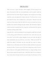 Tài liệu THE RAVEN- GRIMM''''S FAIRY TALE doc