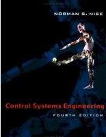 Control systems engineering 4the