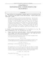 Tài liệu Bài tập về Kinh tế vĩ mô bằng tiếng Anh - Chương 12 doc