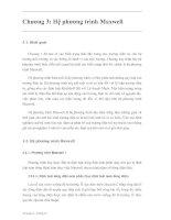 Tài liệu Lý thuyết trường điên tử P3 doc
