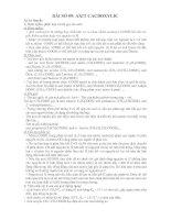Tài liệu Giáo trình hóa học lớp 12 phần axit cacboxylic docx
