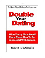 Tài liệu Double Your Dating pdf