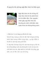 Tài liệu 8 nguyên tắc phòng ngộ độc thức ăn hiệu quả pdf