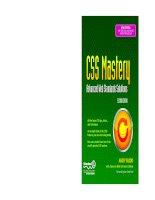 Tài liệu CSS Mastery- P1 ppt