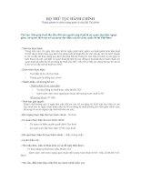 Tài liệu Đăng ký thuế lần đầu đối với người nộp thuế là cơ quan đại diện ngoại giao, cơ quan lãnh sự và cơ quan đại diện của tổ chức quốc tế tại Việt Nam pptx