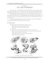 Tài liệu Chương 9 Gia công bánh răng pptx