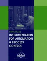 Practical instrumentation for automation and process control 2