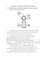 Tài liệu đồ án công nghệ chế tạo máy, chương 4 ppt