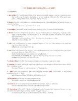 Tài liệu Luyện thi Toeic- Từ vựng bài 3 ppt