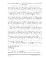 Báo cáo thực tập kế toán: Chi phí sản xuất và giá thành sản phẩm tại công ty Xuân Hòa