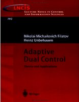 Adaptive dual control theory and applications