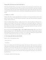 Tài liệu Những điều cần biết khi viết một lá thư điện tử ppt