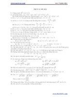 268 bài tập bồi dưỡng học sinh giỏi toán lớp 9