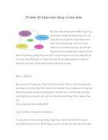 Tài liệu 15 bước để nhận thức đúng về bản thân ppt