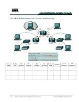 Tài liệu Lab 11.2.3d Multiple Access Lists Functions (Challenge Lab) pdf