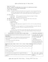 Tài liệu Giáo án môn Hóa học lớp 10 pdf