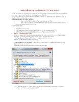 Tài liệu Hướng dẫn cài đặt và cấu hình HTTP Web Server doc
