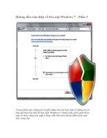 Tài liệu Hướng dẫn toàn diện về bảo mật Windows 7 – Phần 3 pptx