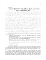 Tài liệu Chương 1. KHÁI NIỆM VÙNG VEN BỜ VÀ QUẢN LÝ TỔNG HỢP VÙNG VEN BỜ pdf