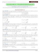 bài tập về dao động điện từ - tổng hợp đề thi từ 2007-2013