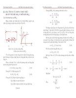 Tài liệu Đặc tính của động cơ điện một chiều doc