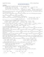 Tài liệu Bài tập chương điện li doc