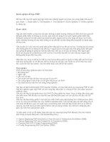 Tài liệu Kinh nghiệm để học PHP pdf