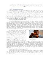 Tài liệu NGƯỜI CAO TUỔI NÊN DÙNG THUỐC KHÁNG SINH NHƯ THẾ NÀO? doc