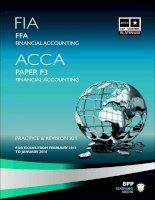 Tài liệu ACCA mới nhất từ BPP môn F3