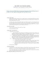 Tài liệu Hoàn thuế GTGT đối với trường hợp hàng hoá xuất khẩu để thực hiện dự án đầu tư ra nước ngoài (trường hợp hoàn trước kiểm tra sau) pdf