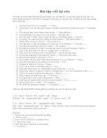 Tài liệu Bài tập viết lại câu 1 pptx