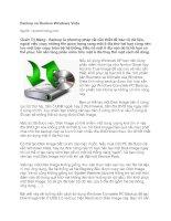 Tài liệu Backup và Restore Windows Vista pptx