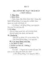 Tài liệu Địa lý lớp 6 bài 12 (tt) ppt