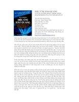 Tài liệu Hiệu ứng hào quang và 8 ảo tưởng khác trong kinh doanh đánh lừa các nhà quản lý doc