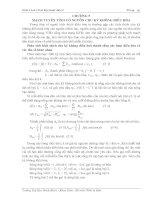 Tài liệu Giáo trình cơ sở Kỹ thuật điện V doc