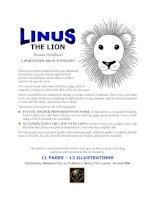 Tài liệu Linus the Lion doc
