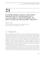 Tài liệu Mạng lưới giao thông và đánh giá hiệu suất P21 doc