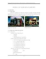 Tài liệu Kiến trúc dân dụng phần nguyên lý thiết kế nhà dân dụng pdf