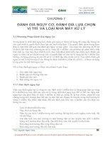 Tài liệu Giáo trình quản lý chất thải nguy hại P7 doc