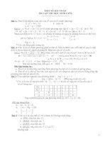Một số bài thi HSG lớp 9