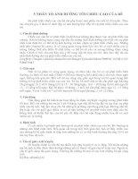 Tài liệu NĂM NHÂN TỐ ẢNH HƯỞNG TỚI CHIỀU CAO CỦA BÉ docx