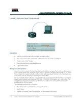 Tài liệu Lab 2.2.9 Command Line Fundamentals ppt