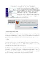 Tài liệu Những bước cơ bản để bảo mật mạng không dây ppt
