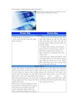 Tài liệu Website động và website tĩnh khác nhau như thế nào? pptx