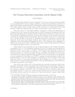 Tài liệu The Vietnam Education Foundation and the Digital Utility pdf