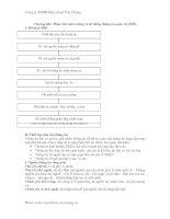 Tài liệu Phân tích môi trường và hệ thống thông tin quản trị (MIS) ppt